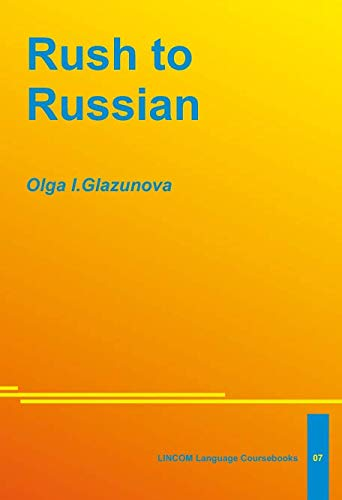 Rush to Russian: Glazunova, Olga I.