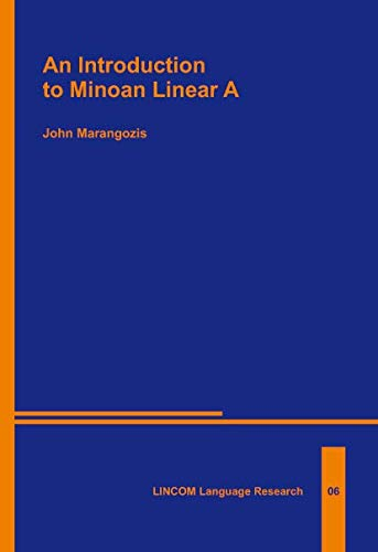 9783895863868: an Introduction to Minoan linear A