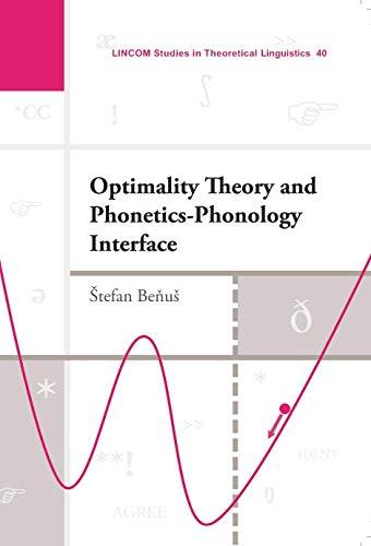Optimality Theory: Benus, Stefan
