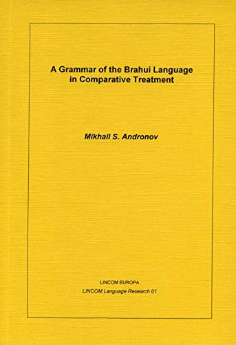 A Grammar of the Brahui Language in: Andronov, Mikhail S.
