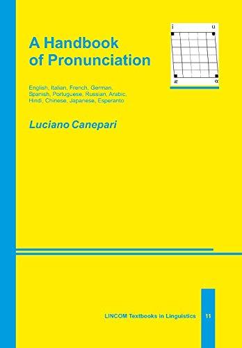 Handbook of Pronunciation: Canepari, Luciano