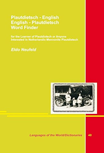 9783895864841: Plautdietsch - English - Englisch - Plaudietsch: for the Learner of Plautdietsch or Anyone Interested in Netterlandic - Mennonite Plautdietsch