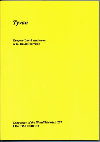 Tyvan: Anderson, Gregory David; Harrison, K. David