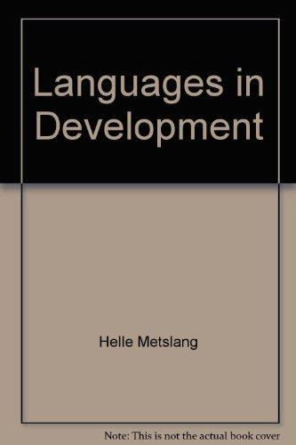 Languages in development: Metslang, Helle; Rannut, Mart