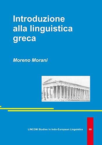 9783895869495: Introduzione alla linguistica greca