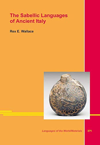 9783895869907: The Sabellian Languages of Ancient Italy