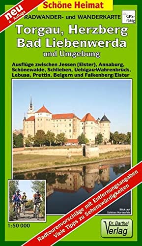 9783895910838: Torgau und Umgebung 1 : 50 000. Wander- und Radwanderkarte: Mit Dahlener Heide, Dübener Heide und Elbaue