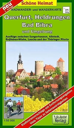 9783895912207: Querfurt, Heldrungen,  Bad Bibra und Umgebung Radwander- und Wanderkarte 1 : 50 000: Ausflüge zwischen Sangerhausen, Allstedt, Wiehe, Roßleben, Laucha und der Thüringer Pforte