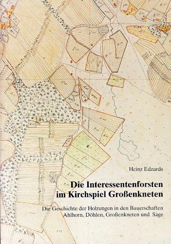 9783895981388: Die Interessentenforsten im Kirchspiel Grossenkneten