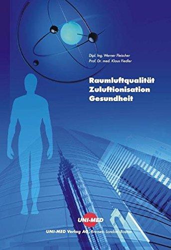 9783895993312: Raumluftqualität, Zuluftionisation und Gesundheit