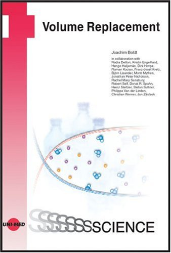 9783895997211: Volume Replacement (Uni-Med Science)