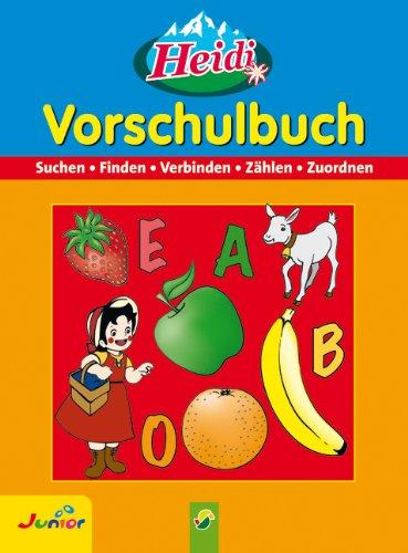9783896008916: Heidi Vorschulbuch