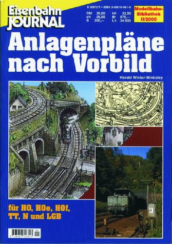 9783896100610: Anlagenpläne nach Vorbild - Eisenbahn Journal Anlagenbau & Planung 2-2000