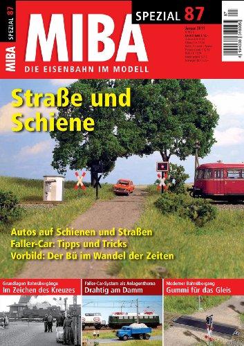 9783896105349: MIBA Spezial 87 - Straße und Schiene