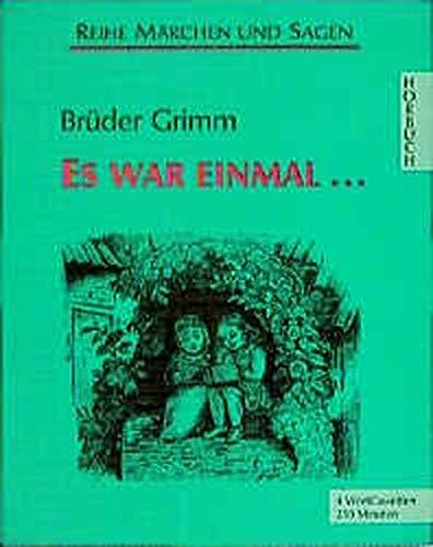 Es war einmal, 4 Cassetten: Jacob Grimm
