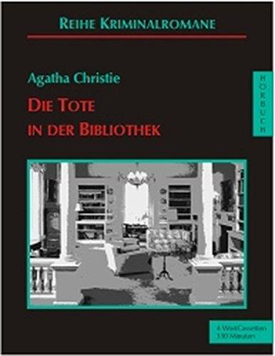 9783896142047: Die Tote in der Bibliothek. 4 Cassetten.