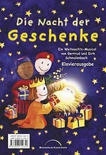 9783896152640: Die Nacht der Geschenke: Klavierausgabe (Livre en allemand)