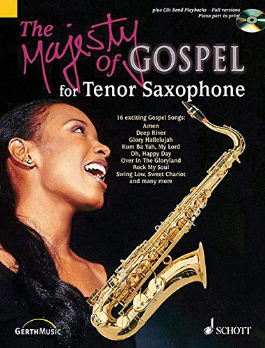 9783896153753: THE MAJESTY OF GOSPEL FOR TENOR SAXOPHONE/COMPACT DISC