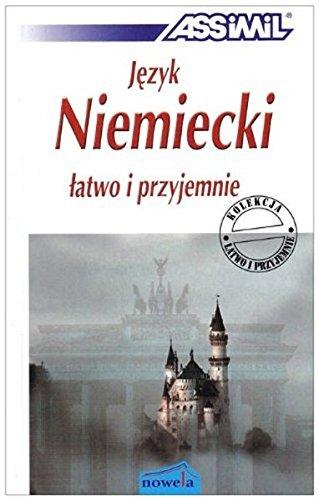 9783896250018: Jezyk Niemiecki Latwo i Przjemnie book - learn German for Polish speakers (German Edition)