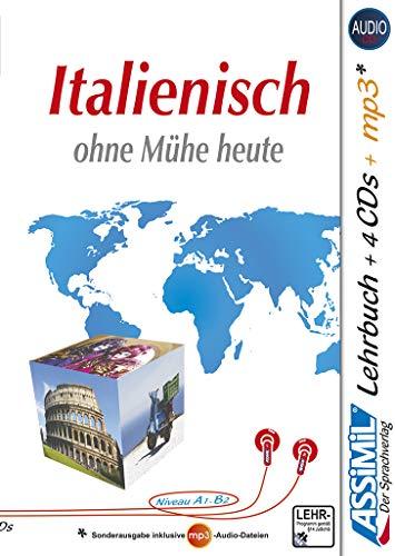 9783896250575: Superpack italienish ohne muhe heute - Italian for German speakers - book, 4 CD and 1 CF MP3 (SANS PEINE) (Italian Edition)