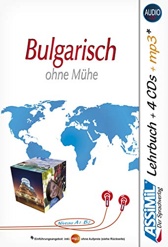 9783896252241: Bulgarisch ohne Mühe. Con 4 CD Audio. Con CD Audio formato MP3 (Senza sforzo)