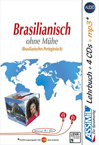 9783896252289: Assimil Superpack Brasilianisch - Book plus 4 CD's plus 1 CD MP3 (German Edition)