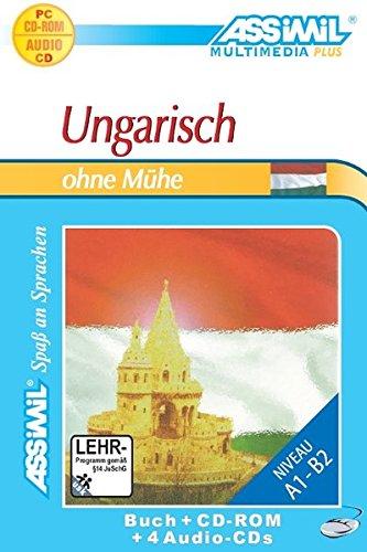 9783896254504: Ungarisch ohne Mühe. Multimedia-PLUS. Lehrbuch + 4 Audio CDs + CD-ROM