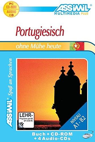 9783896254702: Assimil- Methode. Portugiesisch ohne Mühe heute. Super- Pack. Enthält: Lehrbuch, 1 CD- ROM, 4 Audio- CD. (Lernmaterialien) (Portuguese Edition)