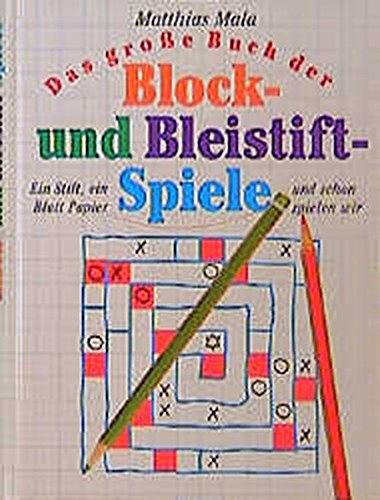 9783896312259: Blockspiele und Bleistiftspiele