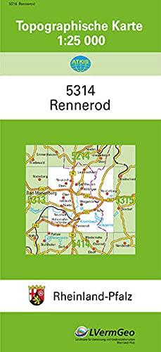 9783896370068: Rennerod 1 : 25 000