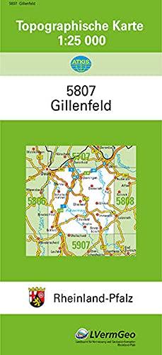 9783896370471: Gillenfeld 1 : 25 000