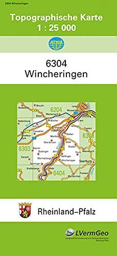 9783896371034: Wincheringen 1 : 25 000