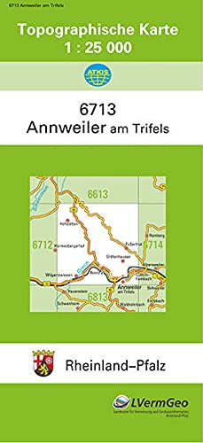 9783896371416: Annweiler 1 : 25 000