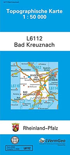 9783896371782: Bad Kreuznach 1 : 50 000