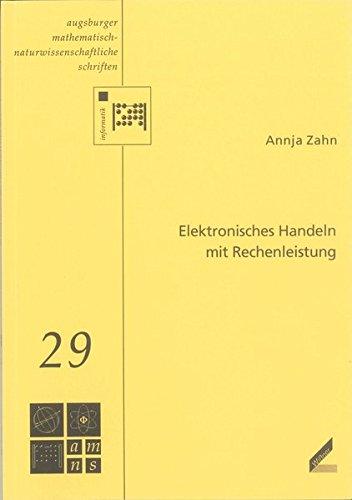 Elektronisches Handeln mit Rechenleistung: Annja Zahn
