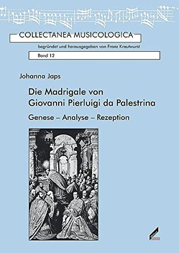 Die Madrigale von Giovanni Pierluigi da Palestrina: Johanna Japs