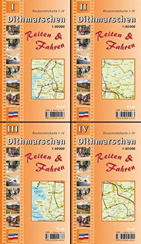 Dithmarschen Reiten & Fahren. Reiterkartenset 1:60.000: Komplettset aus Dithmarschen Reiten &...