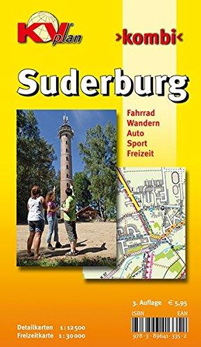 9783896413352: Suderburg: Detailkarten 1 : 12 500. Freizeitkarte 1 : 30 000. Fahrrad / Wandern / Auto / Sport / Freizeit