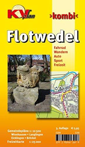 Flotwedel: Wandern-Fahrrad-Auto-Sport-Freizeit. Gemeindepläne 1 : 12 500 Wienhausen - ...