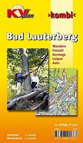 9783896415387: Bad Lauterberg: Stadtplan 1 : 10 000. Wanderkarte 1 : 20 000. Wandern. Freizeit. Kurwege. Loipen. Auto