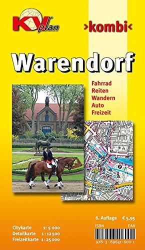 Warendorf: Citykarte 1 : 5 000. Detailkarte 1 : 12 500. Freizeitkarte 1 : 25 000. Fahrrad, Reiten, ...