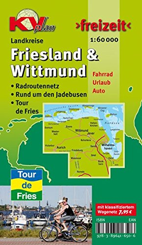 9783896416506: Landkreise Friesland & Wittmund 1 : 60 000