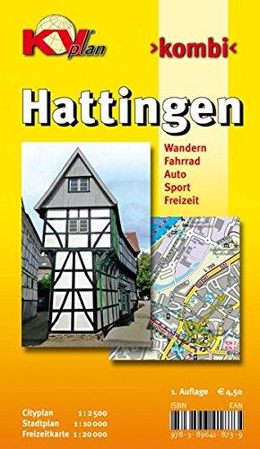 9783896418739: Hattingen 1 : 10 000