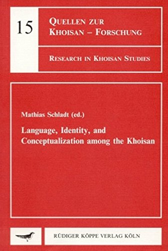 9783896451439: Language, Identity, and Conceptualization among the Khoisan (Research in Khoisan Studies)