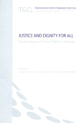 9783896451668: Justice and Dignity for All: Current Issues of Human Rights in Tanzania