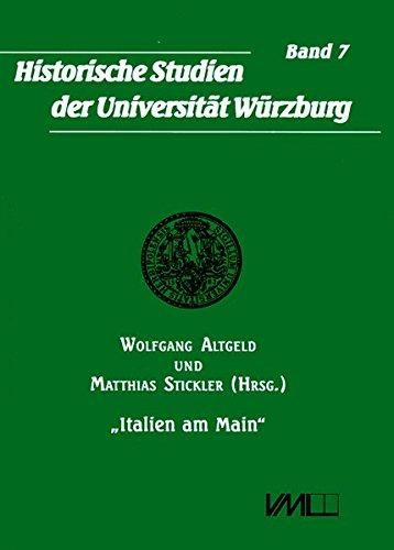 9783896468390: Italien am Main: Großherzog Ferdinand III. der Toskana als Kurfürst und Großherzog von Würzburg (Livre en allemand)