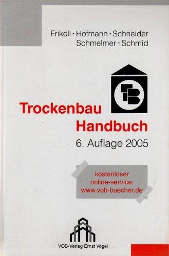 9783896501998: Das Trockenbau Handbuch