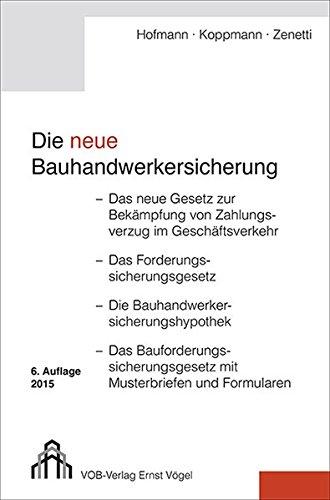Die neue Bauhandwerkersicherung: Olaf Hofmann