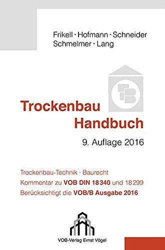 9783896504210: Trockenbau Handbuch