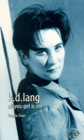 9783896560254: k.d. lang. All you get is me